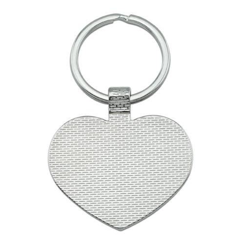 Scotland Scottish Country Flag Heart Love Metal Keychain Key Chain Ring
