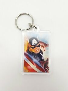 SDCC-2018-Alex-Ross-Captain-America-Key-Chain-Ring-Convention-Exclusive