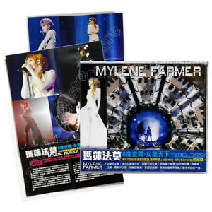 Mylene-Farmer-Timeless-Taiwan-2-CD-OBI-Bonus-Film-Mini-Poster-Mylene-2019-NEW
