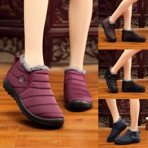 3bd860272552 Women Winter Warm Snow Boots Outdoor Ankle Boots Plus Casual Velvet ...
