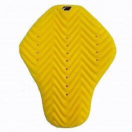 Spada Tekto Back Armour Motorcycle Motorbike One Size Insert - Yellow