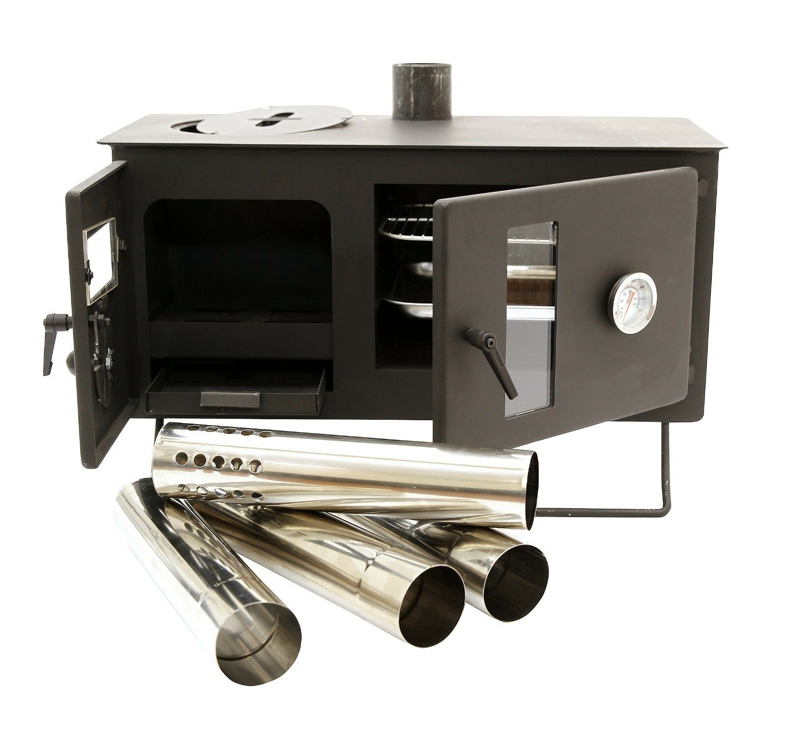 Large Window Firebox Tent Stove Outbacker/® Vista
