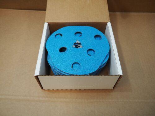 "QTY 10 Avos Plus Closekote 7/"" Speed-Lok Disc Blue 36 Grit 26538 F826 10pk"