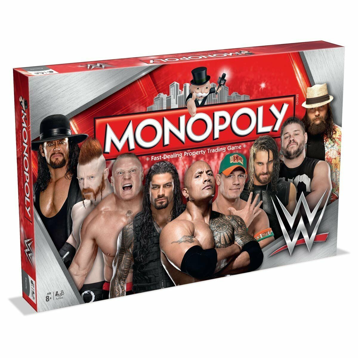 Winning Moves Monopoly WWE Edition Board Game