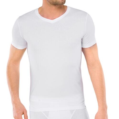 Schiesser Herren Long Life Cotton T-Shirt Unterhemd  4 5 6 7 8  V-Neck  NEU