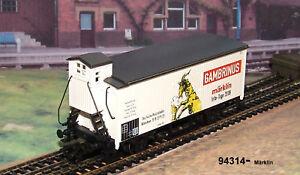 "Märklin 94314 Bierwagen ""Gambrinus"" Info-Tage 2008 #NEU"