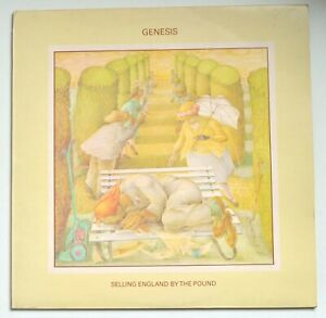 Genesis - Selling England By The Pound - UK Vinyl Early Pressing - 1973-CAS 1074