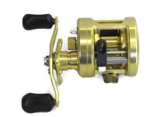 Conventional  Baitcasting Reel CNC Metal Body  for Freshwater and Saltwater