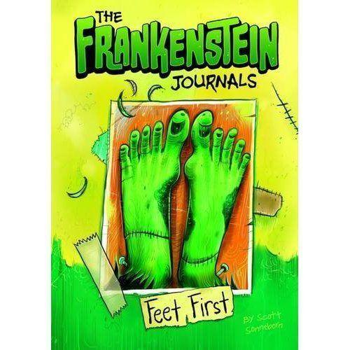 """1 of 1 - """"VERY GOOD"""" Sonneborn, Scott, The Frankenstein Journals: Feet First, Book"""