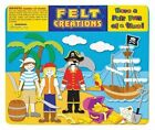 Felt Creations Story Board - Pirate Ship 9028