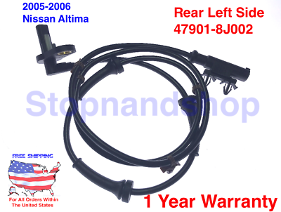 ABS Wheel Speed Sensor for 2005-2006 Nissan ALTIMA Front Rear Left Right 4 PCs