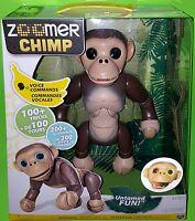 Lifelike Interactive Zoomer Chimp Voice Command Toy Robot Monkey
