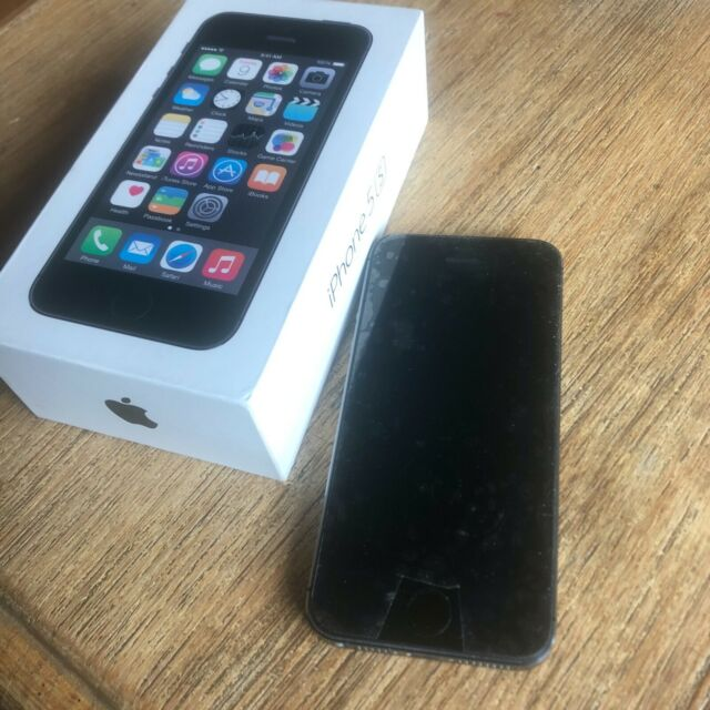 Apple iPhone 5s - 16GB - Space Grau (Ohne Simlock) A1457 ...