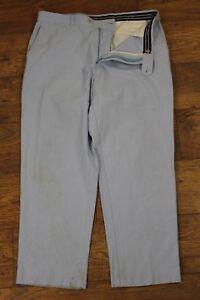 J-CREW-Mens-Blue-Classic-Fit-Chinos-Trousers-Size-Waist-38-034-Leg-30-034-JCREW