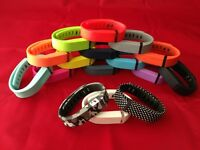 Replacement Band For Fitbit Flex Large Or Small Size With Clasp -no Tracker-