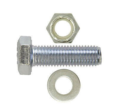 """UNF THREAD IMPERIAL BOLTS 1//2/"""" x 3 NYLOCS WASHERS QTY 5 SETS"""