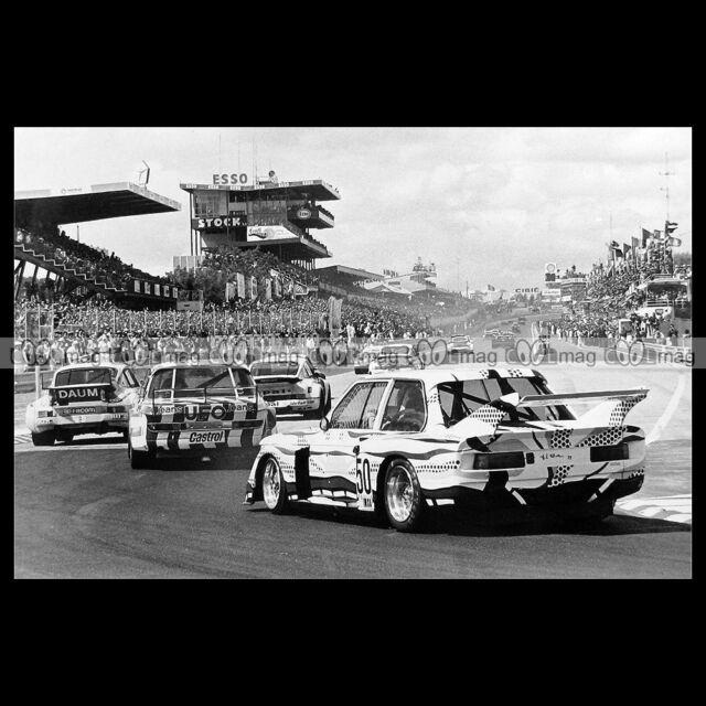 #pha.016246 Photo BMW 320 POULAIN-MIGNOT 24 HEURES DU MANS 1977 Car Auto