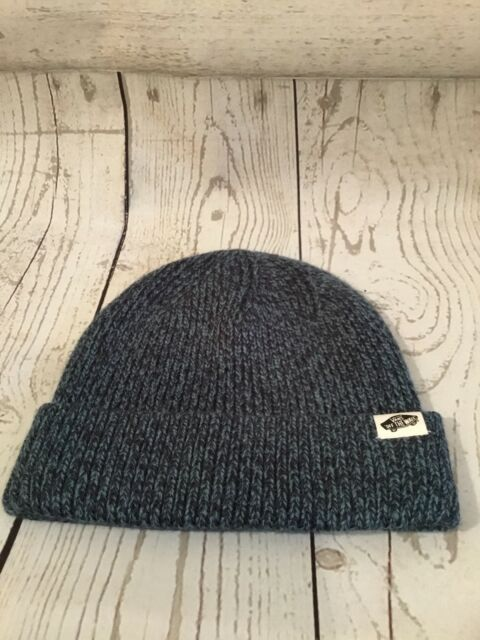 Vans Twilly Navy blue Woven Beanie  eef5076a704