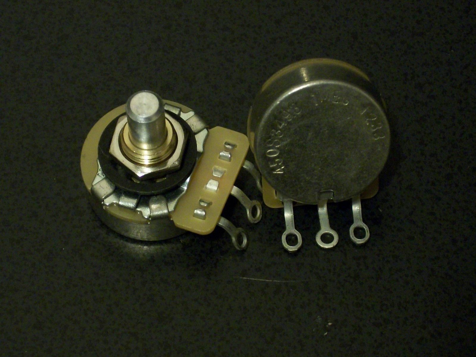 Alpha Full Size 1 Meg Audio 6mm Split Shaft Pots for Guitar /& Bass ESSP-1MA 2