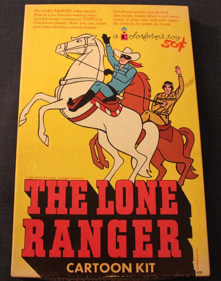 1966 - original - tv - show lone ranger - kit Farbeforms völlig ungenutzt
