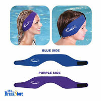 Swimming Ear Band Adults Kids Bathing Swim Headband Swimmers Ears Protection