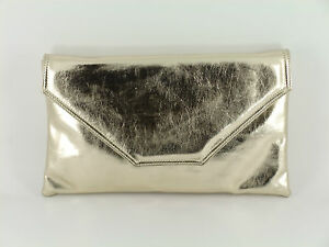 Image is loading Stylish-Large-Envelope-Metallic-Clutch-Bag-Shoulder-Bag- 5f2869b982008