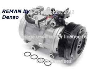 Rebuilt Auto Ac Compressors >> Details About Mercedes Oem Ac Compressor W Clutch W124 W126 W201 Rebuilt By Denso R12