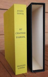Julien Gracq François Lunven Livre Au château d'Argol 15 gravures eaux-fortes * - France - Reliure: Relié Époque: 1968 Langue: Franais Sujet: Livres illustrés - France