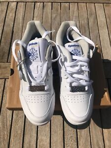 3e5fd8c0ac Details about Boiler Room UKG 20 Years White Reebok Workout Size Uk 6 Us 7