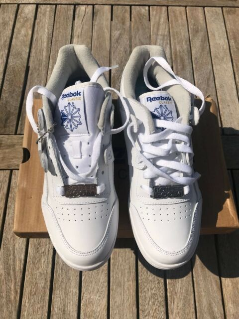 8334de371f9 Reebok Classic Workout Plus 2759 White Leather Trainers UK 6 for ...
