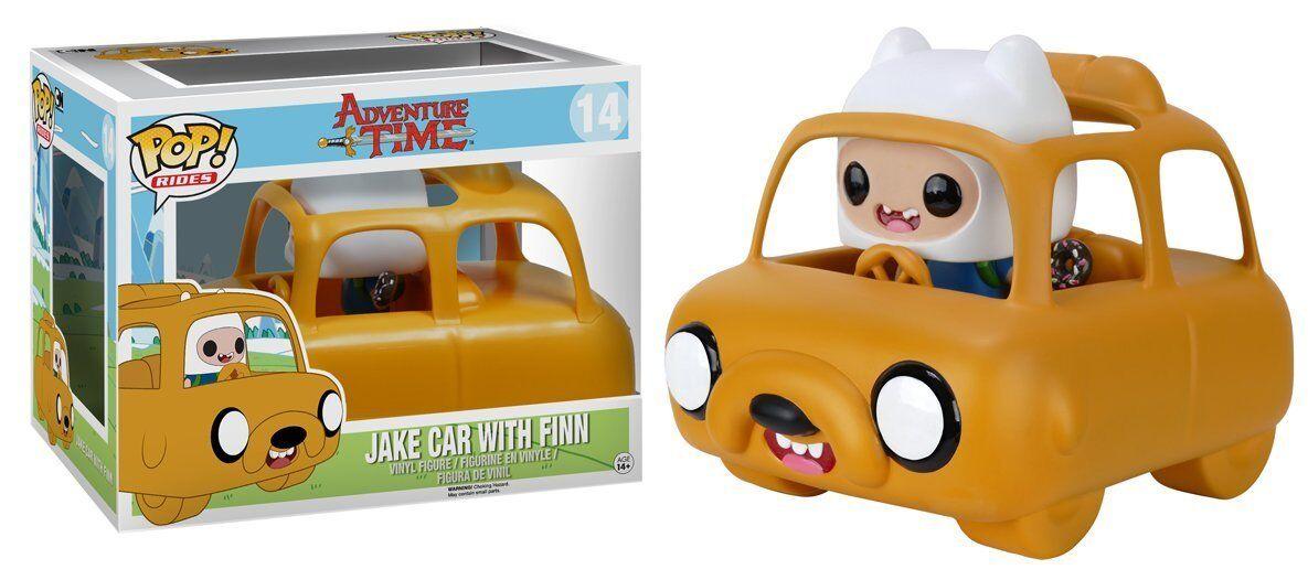 FUNKO POP Rides: ADVENTURE TIME - Jake Car & Finn