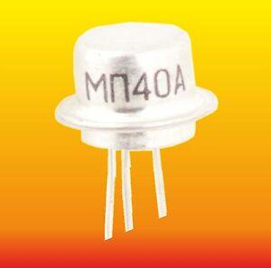 MP38A LOT=5 RUSSIAN Ge NPN TRANSISTOR 0.15W 0.02A ~ 107NU70 155NU70 2SD195 GC527
