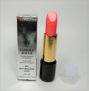 Lancome-L-039-Absolu-Rouge-361-Effortless-Chic-Cream-3-4-g-NEW-TST-BOX