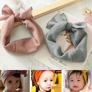 Hairband Princess Head Baby Girl Headband Infant Bow Turban Knot Wrap Newborn