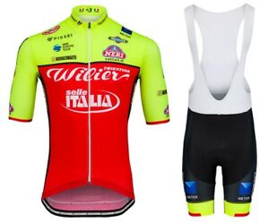 New mens cycling jersey and bib shorts set cycling jerseys cycling bib shorts