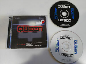DISCOTECA-QUEEN-SESSIONS-BY-DJ-BOTZ-ROB-FLY-DRUMS-FRANK-TRAX-2-X-CD-2003