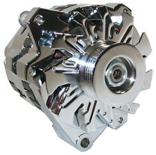 Powermaster 18207 GM CS130D Alternator 120 Amp Straight Mount Chrome Serpentine