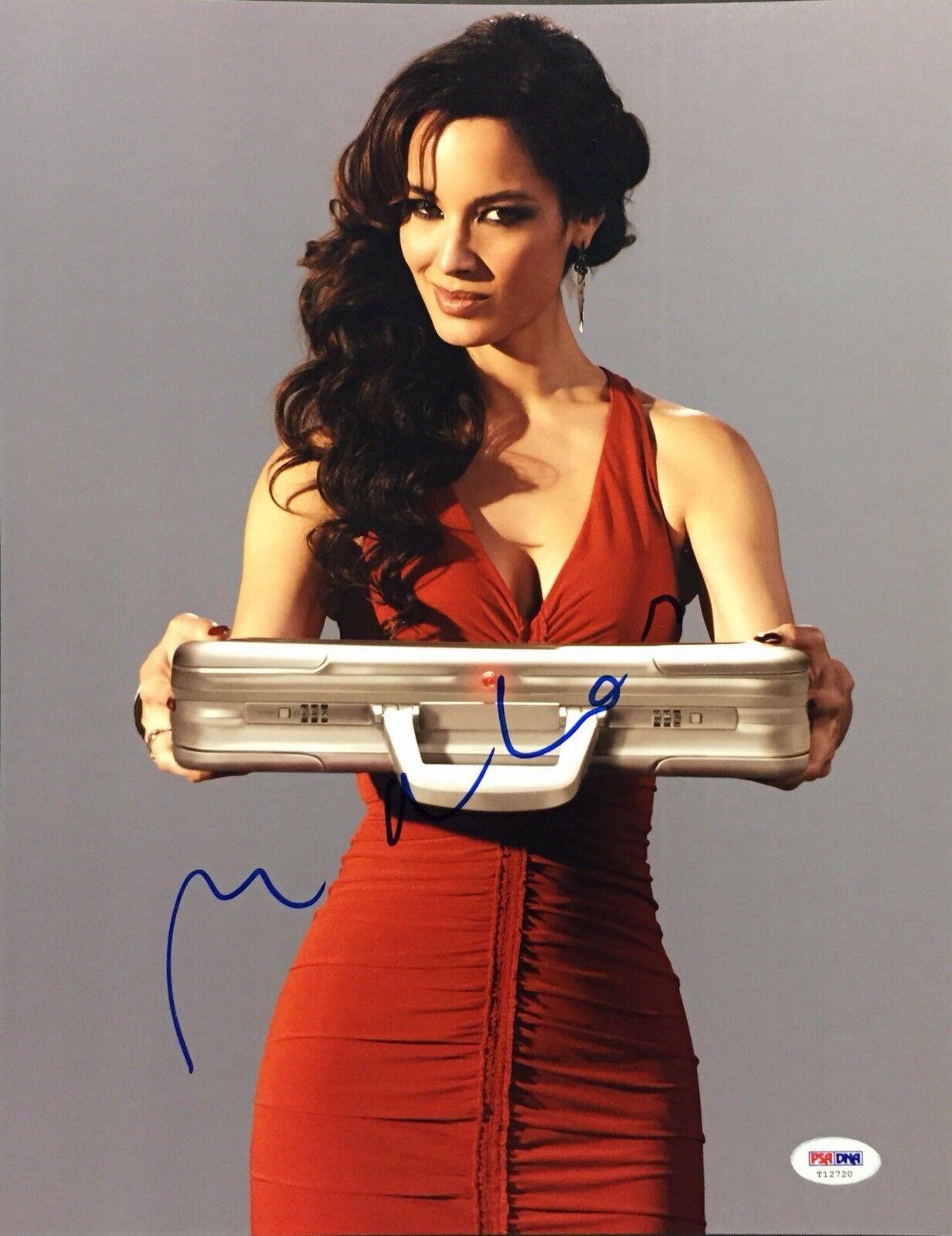 Berenice Marlohe Signed 11x14 Photo *Model *Skyfall Beckett PSA T12720