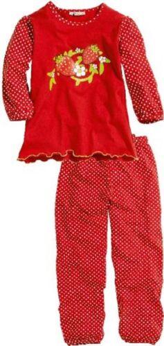 Playshoes Kinder Mädchen Schlafanzug Pyjama 100/% Baumwolle Neu 104 116 128 140