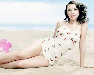 Scarlett Johansson Photo 8 X 10 Glossy 32 Ebay
