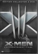 2 DVD ZONE 2 BOIRE METAL COLLECTOR--X-MEN 3 - L'AFFRONTEMENT FINAL-JACKMAN/BERRY