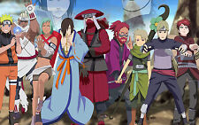 Poster A3 Naruto Shippuden Jinchuriki