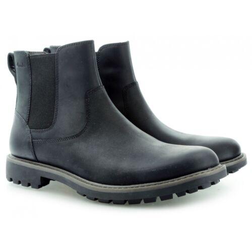 Montacute G Clarks 12 7 9 8 Reino Top Lea Mens 11 Black Boot 10 Unido Chelsea Zq5qr6
