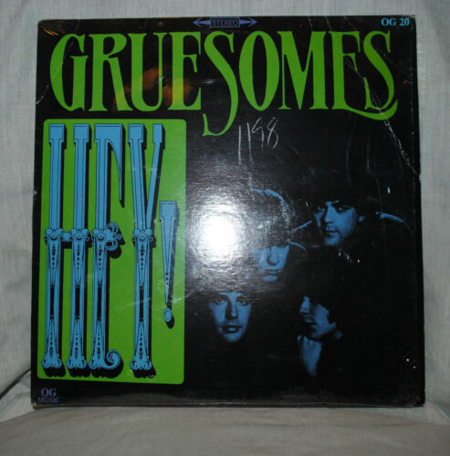Green Somes Hey VINYL LP Punk Rock Music Music
