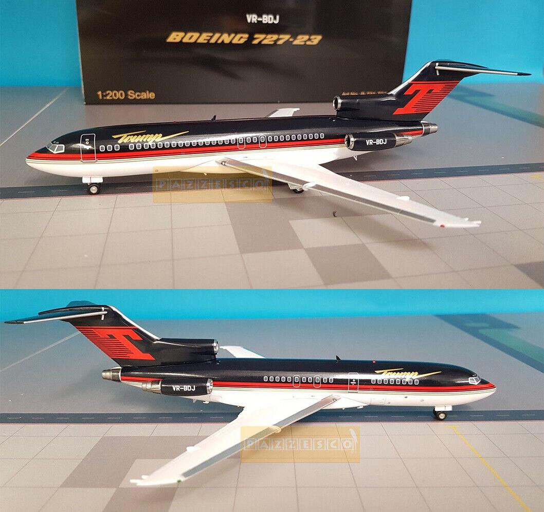 Airplane  Inflight200 Jet President USA Trump Boeing 727 23 1 200 Metal Vintage