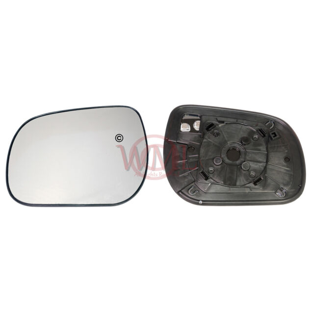 Right Driver side Wing door mirror glass for Toyota RAV 4 2000-2005