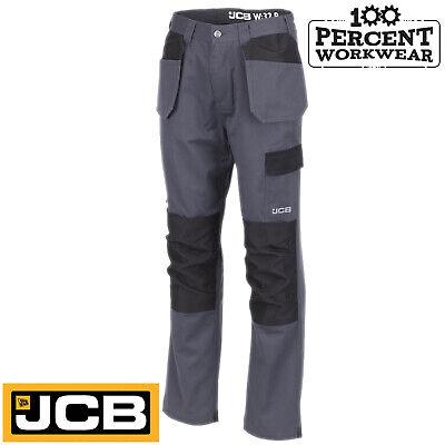 Heavy Duty qualité Travail Pantalon Cargo Pantalon Combat Genou Pad Poches Tradesman