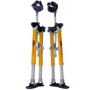 "Sur-Pro Sur-Mag Single Pole Magnesium Drywall Stilts 15-23"" - Small New"