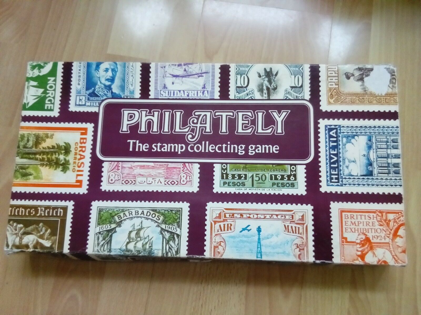 PHILATELY BOARD GAME THE STAMP COLLECTING GAME