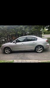Mazda 3, 2006 for sale 2000.00$
